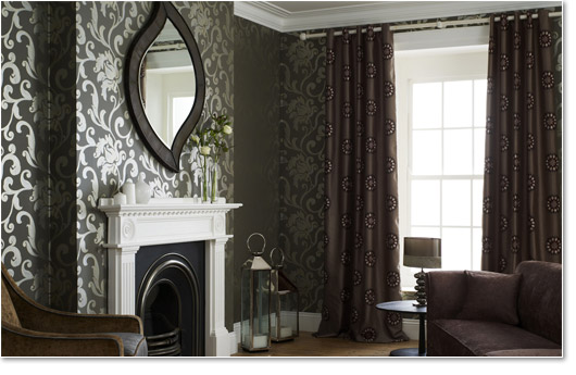 Home decor wallpaper back in style in 2014 for Canadian home decor stores